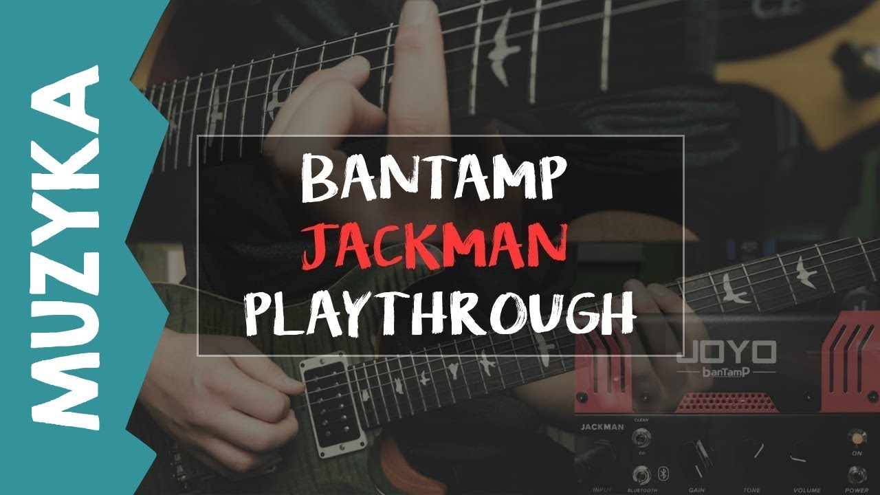 Joyo Bantamp Jackman JCM Playthrough Demo