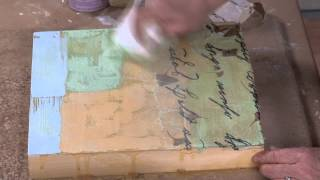 Preview   Wabi Sabi Art Style: Hot Wax, Cold Wax and Plaster with Serena Barton