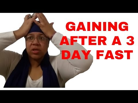 72 Water Fast Refeed Results | Weight Loss Journey [Day 45]