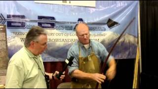 Master Bowyer Tom Turgeon At The Woodcraft Vendor Trade Show 2011