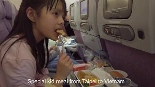 Oriental Vegetarian Meal & Kid Special Meal | 1.2.3 Vclips