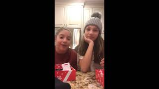 Mackenzie Ziegler and Maddie Ziegler Fanjoy Livestream