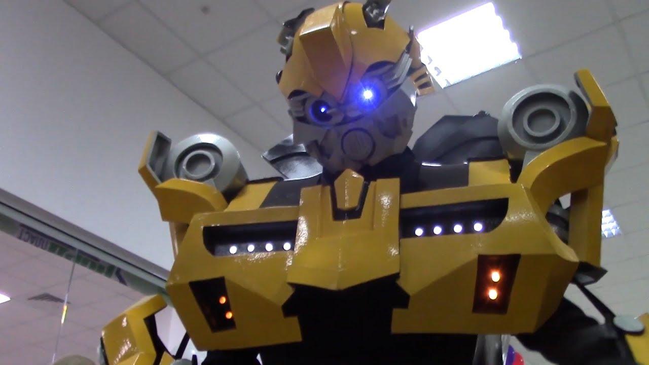 Шоу: Роботы Трансформеры и мыльные пузыри. Entertainment for kids