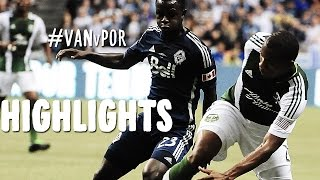 HIGHLIGHTS: Vancouver Whitecaps v Portland Timbers | August 30, 2014