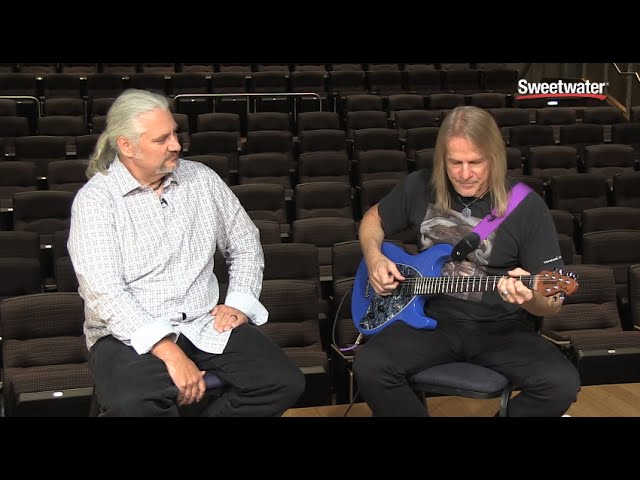 Music Man Steve Morse Signature Guitar Demo Sweetwater Sound Youtube