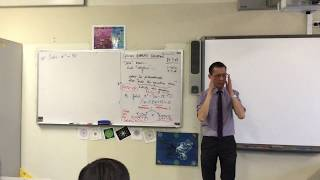 Solving Quadratic Equations (2 of 2: Using factorisation)
