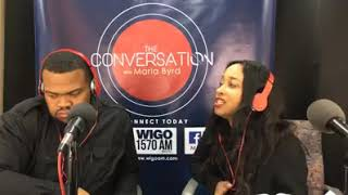 Special Guest Prophet Eric Byrd - The Conversation with Maria Byrd