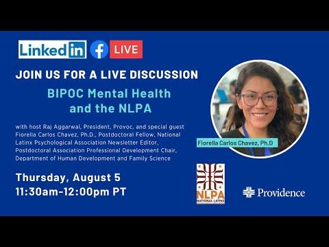 BIPOC Mental Health and the National Latinx Psychological Association (NLPA)