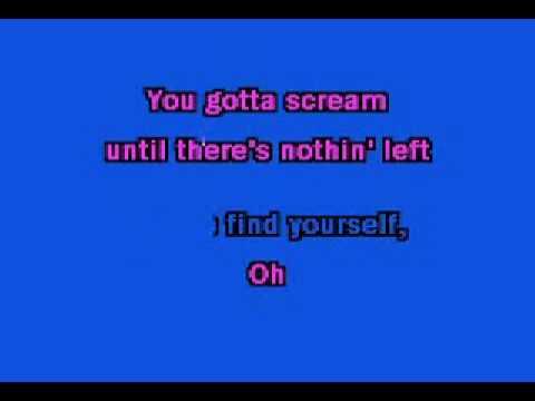 Here I Am karaoke Instrumental