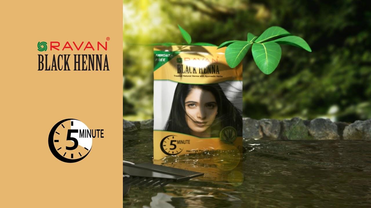 Ravan Black Henna Gold Daam Lella Youtube