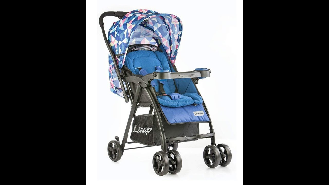 LuvLap Joy Baby Stroller Review and Assembly - YouTube