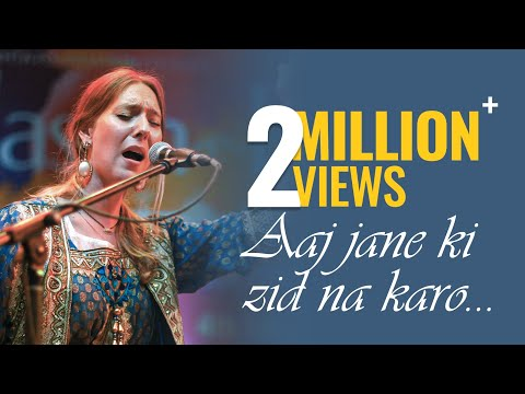 Aaj Jaane Ki Zid Na Karo  Seven Eyes Band  JashneRekhta 4th Edition 2017