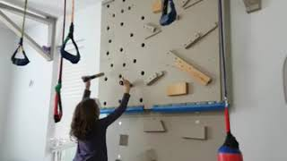 Do It yourself  DIY rock climbing