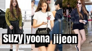 [fashion airport] visual  jijeon[T-tara] yoona[snsd] suzy[miss A]