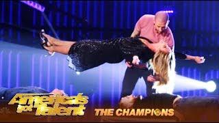 Darcy Oake: Illusionist Makes Heidi Klum LEVITATE In The Air! | America's Got Talent: Champions