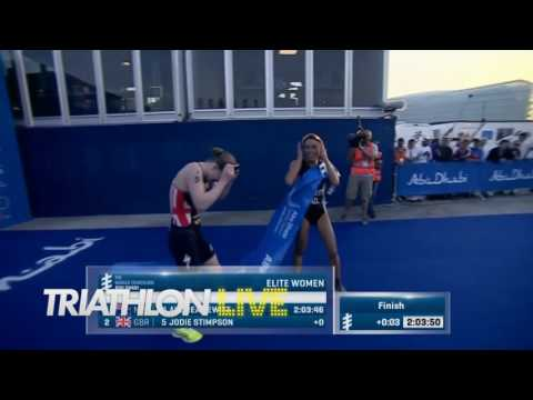 2017 WTS Abu Dhabi Women Sprint Finish