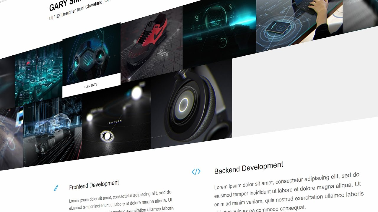Build a Portfolio Site in Angular 2 with the Behance API
