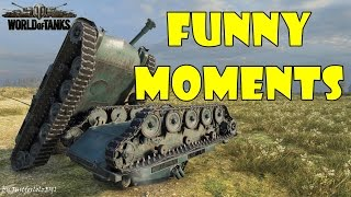 World of Tanks - Funny Moments | Week 4 November 2016
