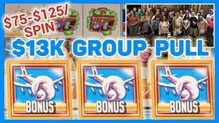 💰$13,000 Group Slot Pull ✦ $500 x 26 People 🎰 BIGGEST EVER! ✦ Brian Christopher Slots
