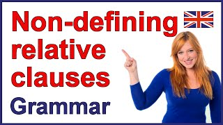 Non-defining relative clauses | English grammar rules