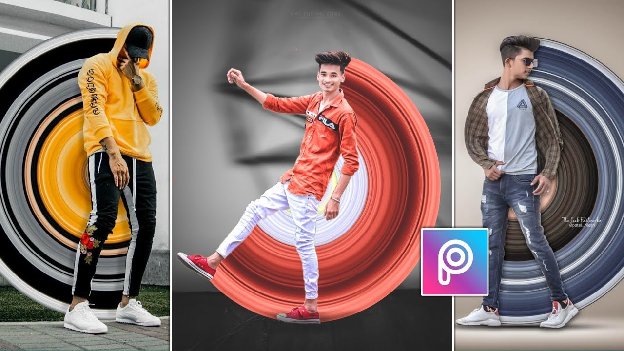 Download PicsArt Circle Stretch Stylish DP Photo Editing 🔥 || Instagram Viral Editing || AC EDITING ZONE