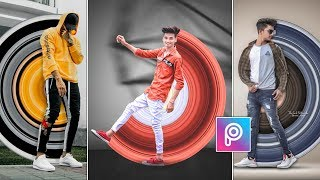 PicsArt Circle Stretch Stylish DP Photo Editing 🔥 || Instagram Viral Editing || AC EDITING ZONE
