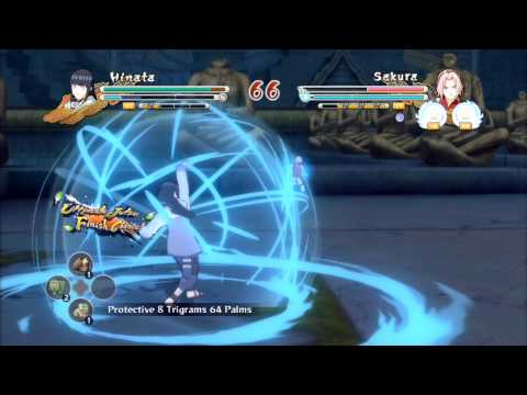 Naruto Shippuden: Ultimate Ninja Storm 3 Hinata VS Sakura