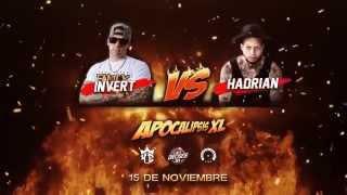 "Apocalipsis XL Hadrian VS Invert | LXL16 ""Linea Dieciséis"" (Vídeo Oficial)"