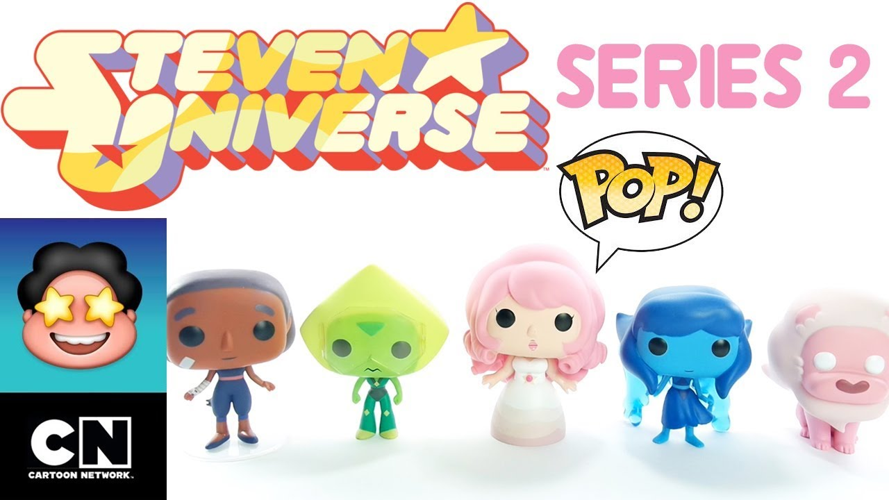 Colecao Funko Pop Steven Universo Cartoon Network Serie 2 Review Brinquedo Boneco Em Portugues Youtube