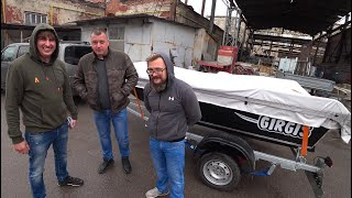 Это интересно! Отгрузка лодки Girgis 390 клиенту и ответы на частые вопросы. Покраска лодки.