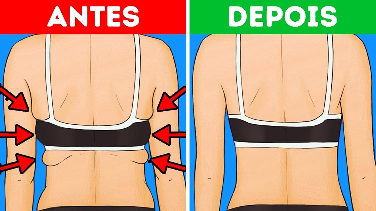 10 Exercicios Para Acabar Com A Gordura Nas Costas E Nas Axilas Em