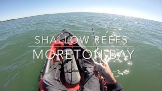 Fishing Moreton Bays Shallow Reefs on Dragon Kayaks
