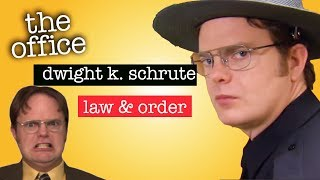 Dwight K. Schrute: Law & Order - The Office US