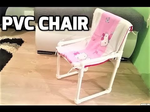 How To Make Kids Chair With Pvc Pipes Youtube