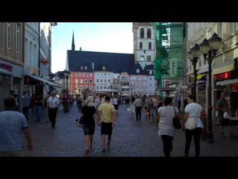 City of Trier in Germany + Germany's oldest pharmacy establi