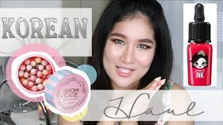 Korean Beauty and Skin Care Haul | Kris Lumagui