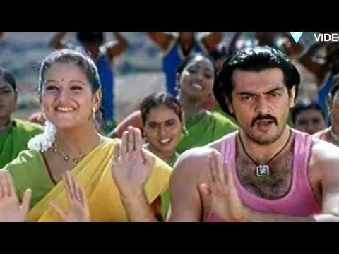Thirupathi Movie Songs  Cheeralichi Po  Ajith Sada Laila