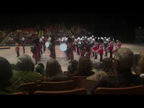 Band of HM Royal Marines of Scotland and Scots Guard Pipes & Drums - Concert Austin, Texas 2/9/2016