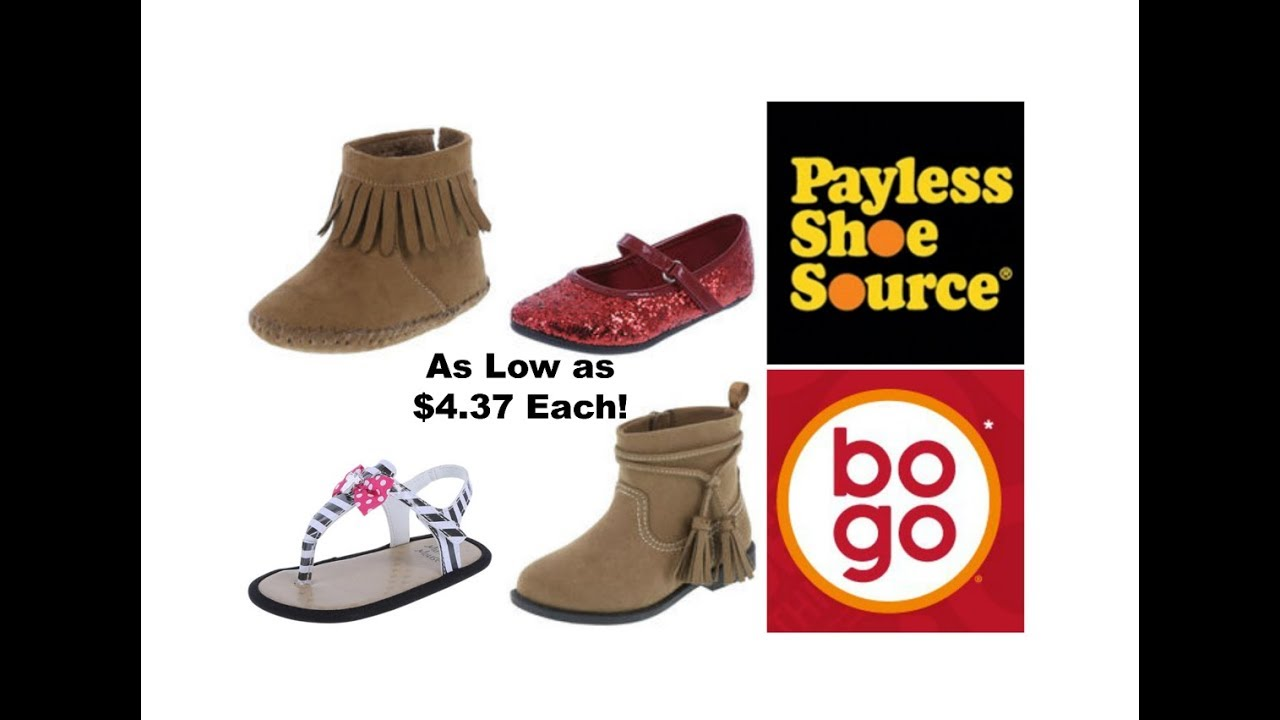 7b7eae0fcac Payless Shoe Source Sale! BOGO+25% Off!!! Today Only! - YouTube