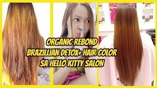 REBONDING SMOOTHENING STRAIGHTENING PROCEDURE OF HAIR