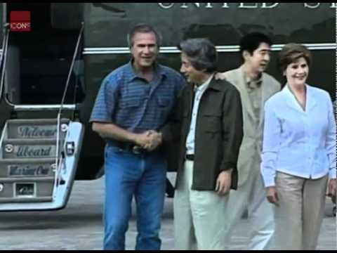 President Bush meets with Japanese Prime Minister Junichiro Koizumi