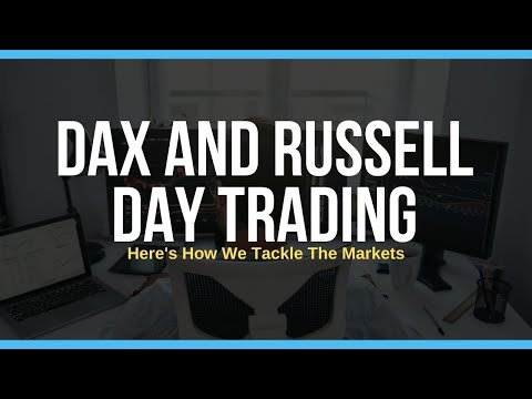 Day Trading Russell & Dax LIVE