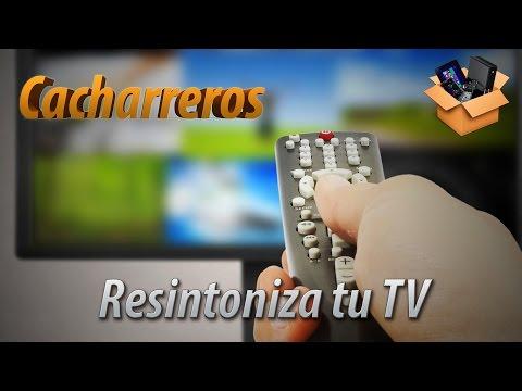 Cómo resintonizar o sintonizar el televisor