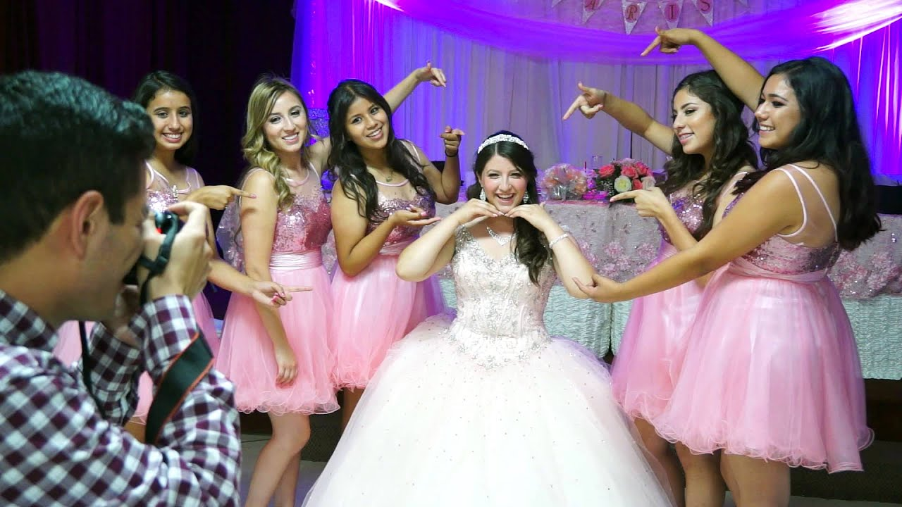 Fotos y videos para quinceanera en los angeles