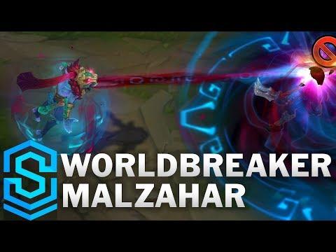 Worldbreaker Malzahar Skin Spotlight - League of Legends