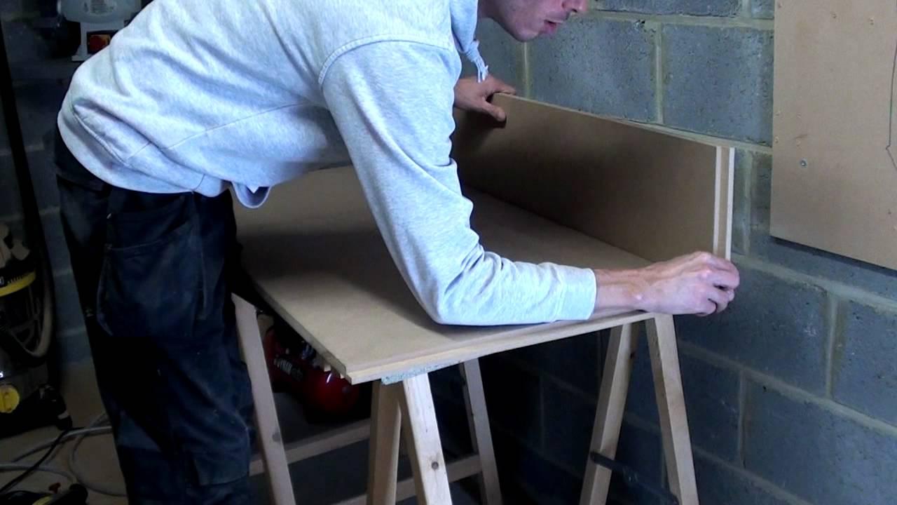 Fabriquer une table basse  roulette  YouTube
