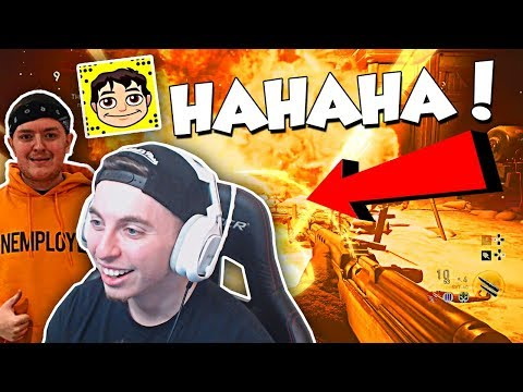 THE FUNNIEST ZOMBIES SQUAD! ft. Nudah, Crude COD WW2 ZOMBIES