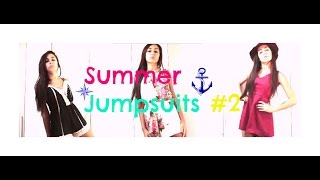 How I Style Summer Jumpsuits #2-Aliexpress 6/7€