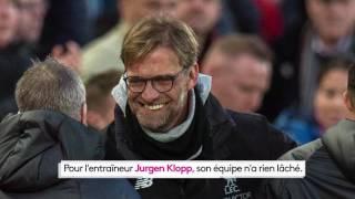Football : Liverpool revient à un point du podium