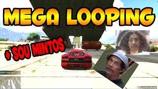 MEGA LOOPING GTA V SOU MINTOS COM @MaYCoNCoD E @DINATAGPLAY PS4 FUNNY MOMENTS